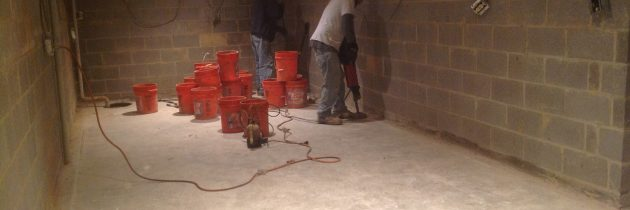Who to Call About a Basement Concrete Repair in Baltimore